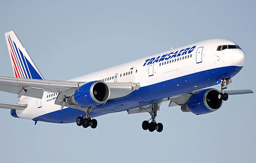 "Boeing-767 авиакомпании ""Трансаэро"""