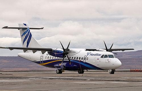 ATR-42-500 авиакомпании Nord Star