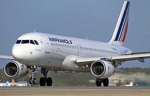 Airbus-A320 французской авиакомпании Air France