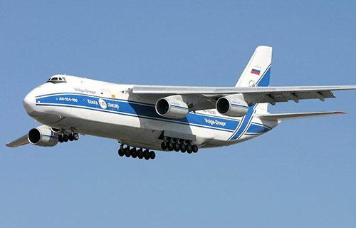"Ан-124-100 авиакомпании ""Волга-Днепр"""