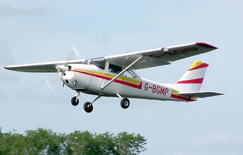 Легкомоторный самотолет Cessna-172