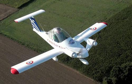 Электрический самолет Cri-Cri