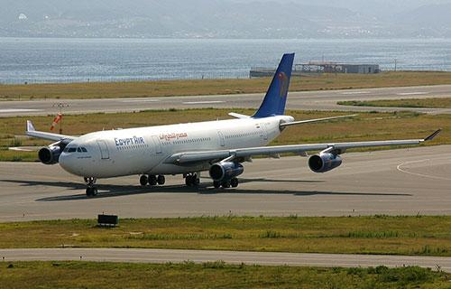 Airbus A340 авиакомпании Egypt Air