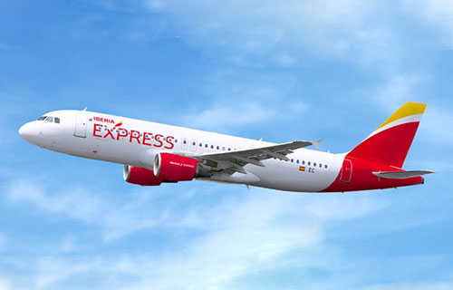 Самолет авиакомпании Iberia Eхpress