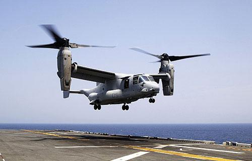Американский конвертоплан Osprey