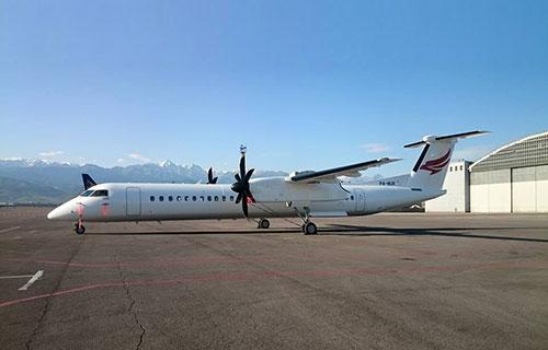 Bombardier Q400 авиакомпании Qazaq Air