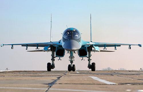 Российский истребитель Су-34