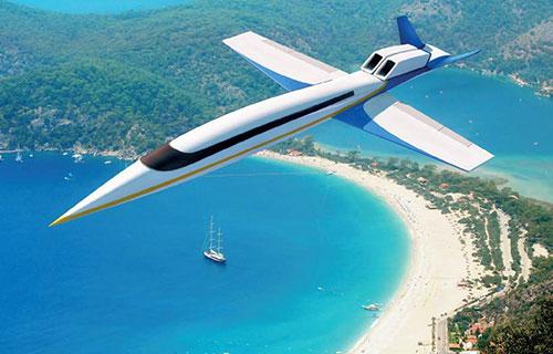 Прототип сверхзвукового бизнес-самолета Spike S-512
