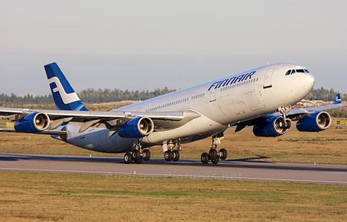 Airbus A-340 авиакомпании Finnair