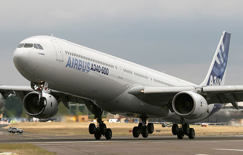 Пассажирский Airbus A340