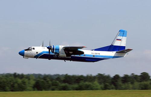 "Ан-26 авиакомпании ""КрасАвиа"""