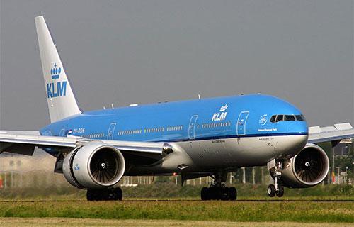 Boeing-777 голландской авиакомпании KLM