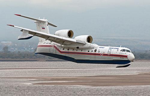 Самолет-амфибия Бе-200 МЧС России