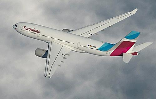 Airbus-A330 авиакомпании Eurowings_