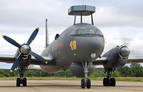 Российский противолодочный самолет Ил-38Н