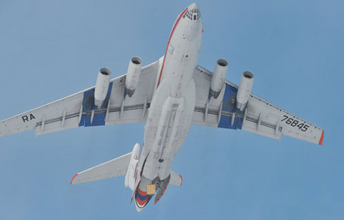 Самолет Ил-76 ВВС России