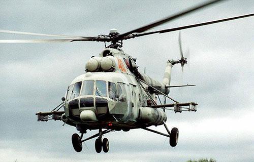 Российский вертолет Ми-8