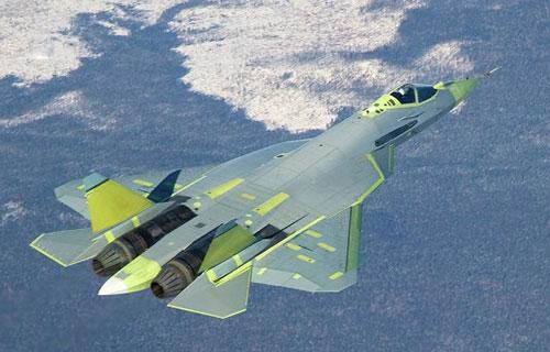 Российский истребитель Т-50 ПАК ФА