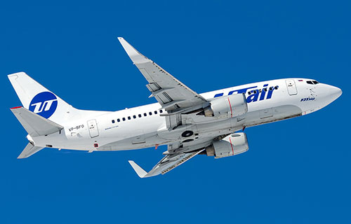 Boeing-737 авиакомпании Utair
