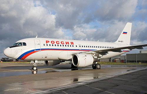 "Airbus-A319 авиакомпании ""России"""