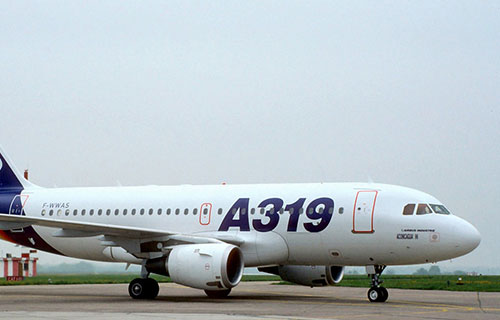 Пассажирский лайнер Airbus-A319