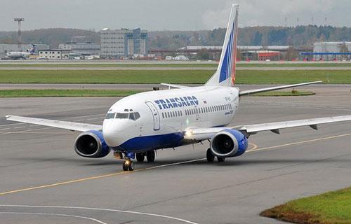 """Boeing-373-300 российской авиакомпании """"Трансаэро"""""""