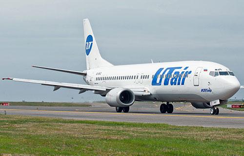 Пассажирский самолет Boeing-737 400 авиакомпании Utair