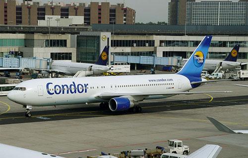 Boeing-767 немецкой авиакомпании Condor