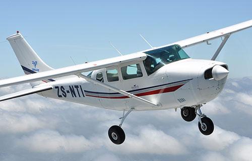 Легкомоторный самолет Cessna-206