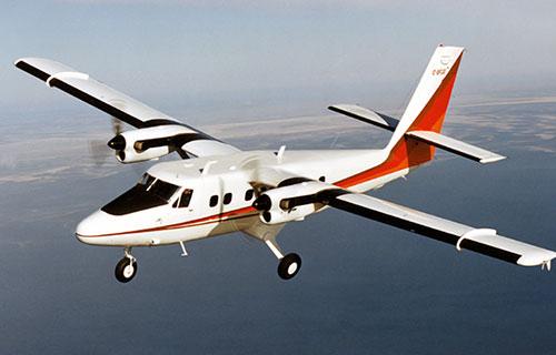 Канадский турбовинтовой самолет DHC-6 Twin Otter