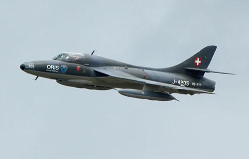Истребитель-бомбардировщик Hawker Hunter