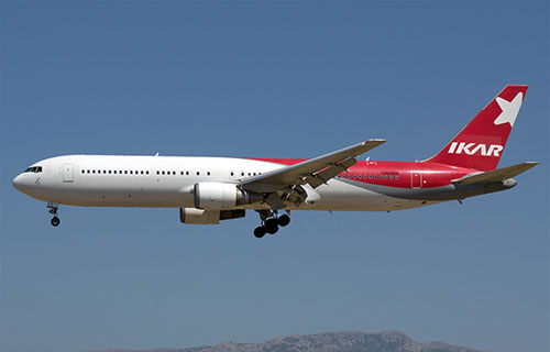 "Boeing-767 авиакомпании ""Икар"""