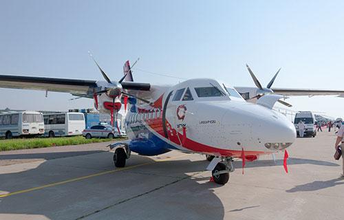 Транспортно-пассажирский самолет L-410UVP