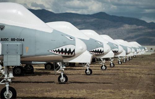 Американские штурмовики A-10