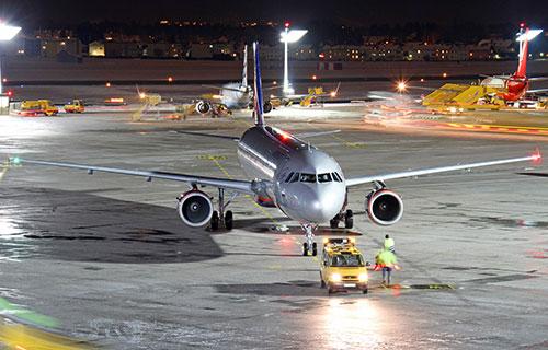 """Airbus A321 российской авиакомпании """"Аэрофлот"""""""