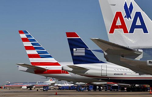 Самолеты американской авиакомпании American Airlines