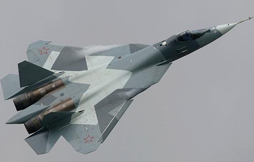 Российский истребитель пятого поколения ПАК ФА