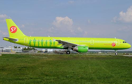 "Airbus A321 авиакомпании ""Сибирь"""