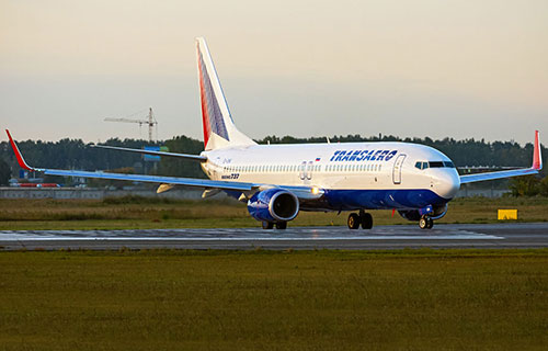 "Boeing-737-800 авиакомпании ""Трансаэро"""