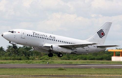 Boeing-737 авиакомпании Trigana Air Service
