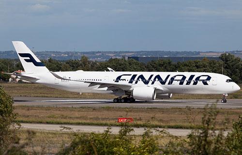 Самолет Airbus A350 авиакомпании FINNAIR