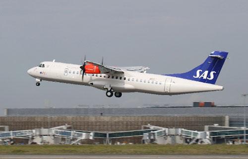 Самолет ATR-72-600 британской авиакомпании Flybe
