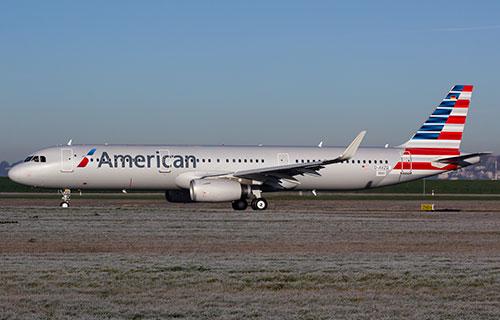 Airbus A321 авиакомпании American Airlines