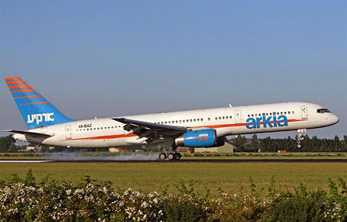 Самолет израильской авиакомпании Arkia