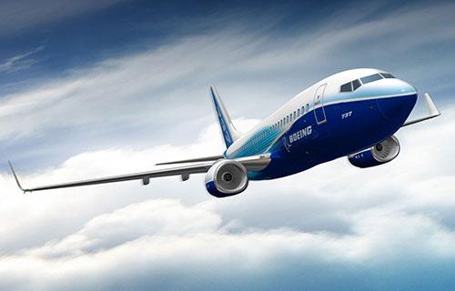 Пассажирский самолет Boeing-737-800