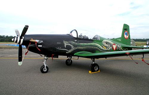 Учебно-тренировочный самолет Pilatus PC-7