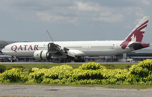 Boeing-777 авиакомпании Qatar Airways