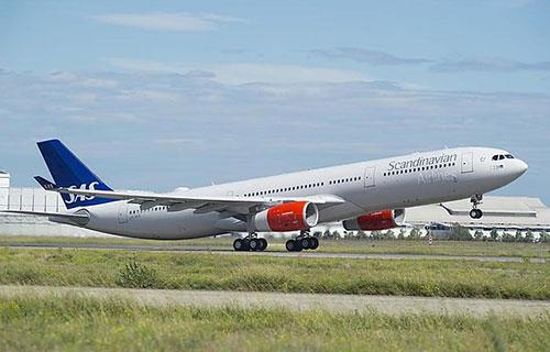 Airbus A330-300 авиакомпании SAS