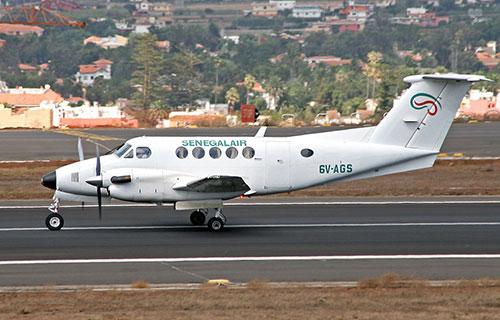Самолет авиакомпании Senegal Air