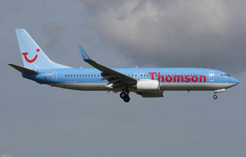 Самолет британской авиакомпании Thomson Airways